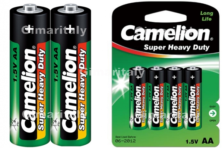 Batterie Stilo AA R6 Super Heavy Duty Camelion BL 4