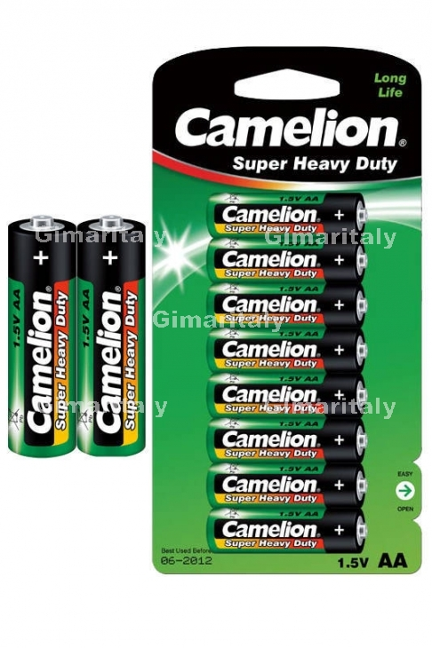 Batterie Stilo AA R6 Super Heavy Duty Camelion BL 8