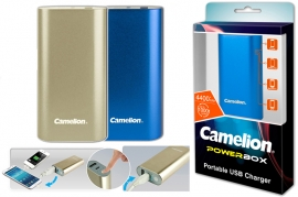 Caricabatterie Power Bank 4400 mAh USB Camelion PS-626