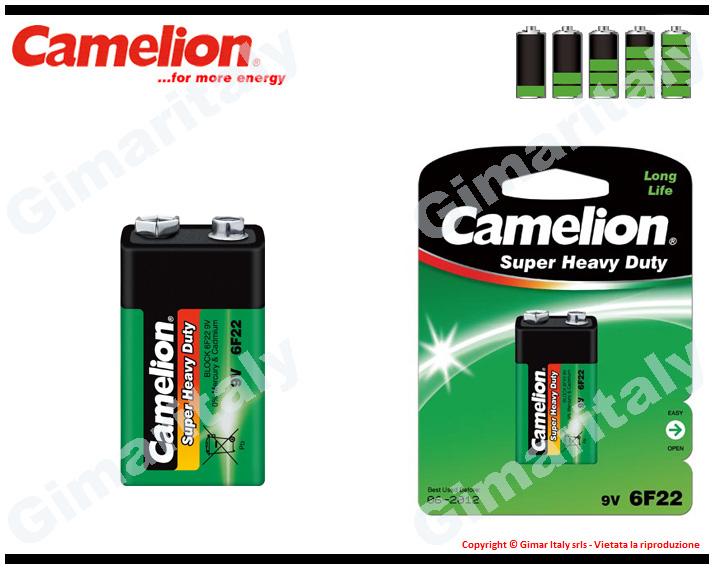 Batteria Pila 9V Transistor Super Heavy Duty Camelion