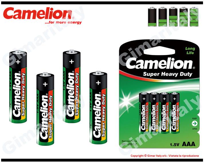 Batterie Pile Ministilo AAA R03 Super Heavy Duty Camelion