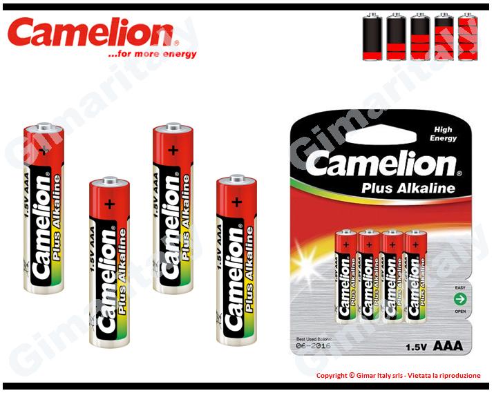 Batterie Pile Ministilo AAA LR03 Alcaline Camelion