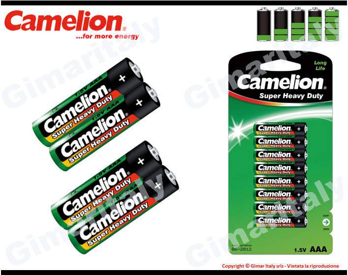 Batterie Pile Ministilo AAA LR03 Super Heavy Duty Camelion