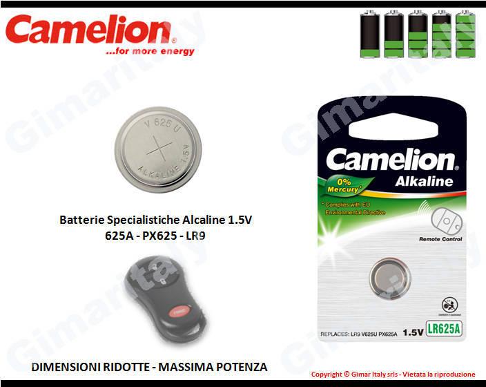 Batterie Specialistiche 625A-PX625-LR9 Alcaline Camelion