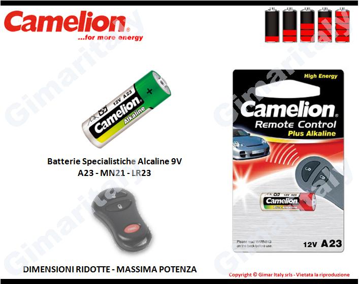 batterie a23 mn21 lr23 12v alcaline camelion bl 1. Black Bedroom Furniture Sets. Home Design Ideas