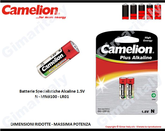 Batterie Specialistiche N-MN9100-LR01 Alcaline Camelion