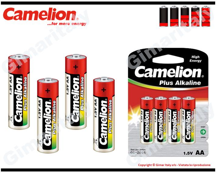 Batterie Pile Stilo AA LR6 Alcaline Camelion
