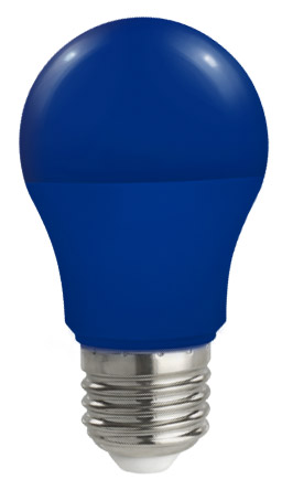 Lampadina Led E27 globo A50 5W Colorata Blu Spectrum
