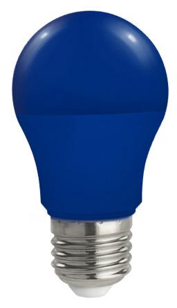 Lampadina Led E27 globo A50 5W Colorata Blu Spectcrum