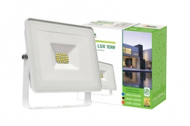 Faro Led 10W Slim Bianco IP65 luce naturale Spectrum