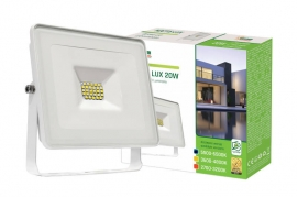 Faro Led 20W Slim Bianco IP65 luce fredda Spectrum