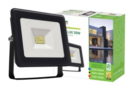 Faro Led 30W Slim Nero IP65 luce naturale Spectrum