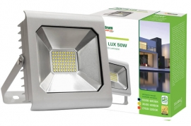 Faro Led 50W Slim Grigio IP65 luce fredda Spectrum