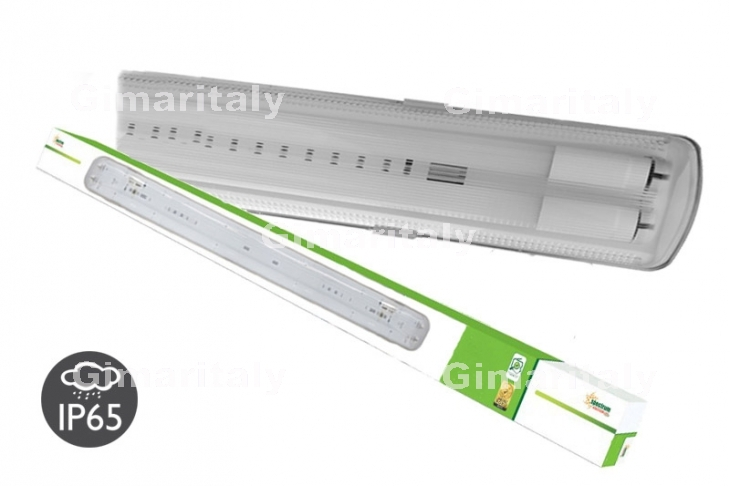 Plafoniere Tubi Led : Plafoniera stagna ip per tubi led t cm spectrum