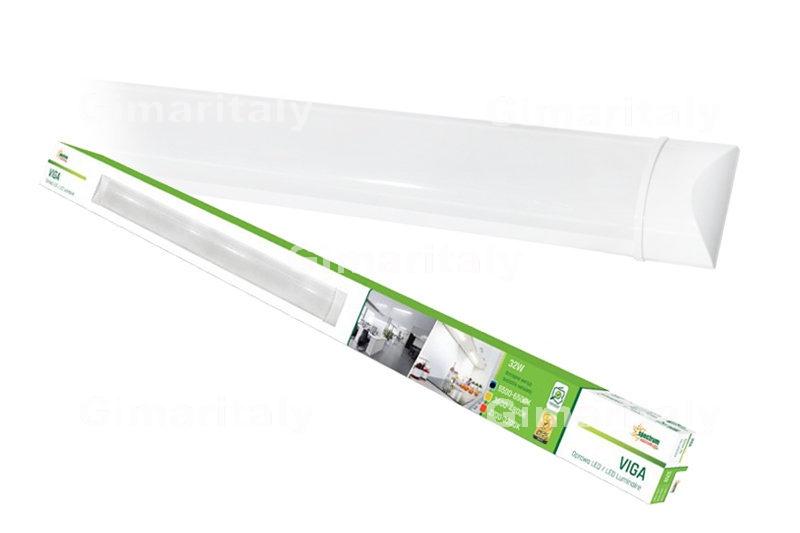 Plafoniere Slim Led Calda : Plafoniera tubo led w cm luce fredda viga spectrum