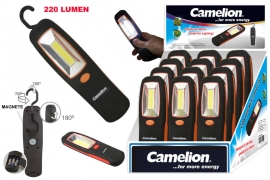 Torcia 3W COB Led da lavoro in Abs Camelion expo x 12