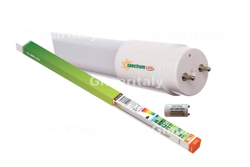 Plafoniera Tubi Led 120 Cm : Tubo led t8 g13 18w 120 cm luce calda spectrum